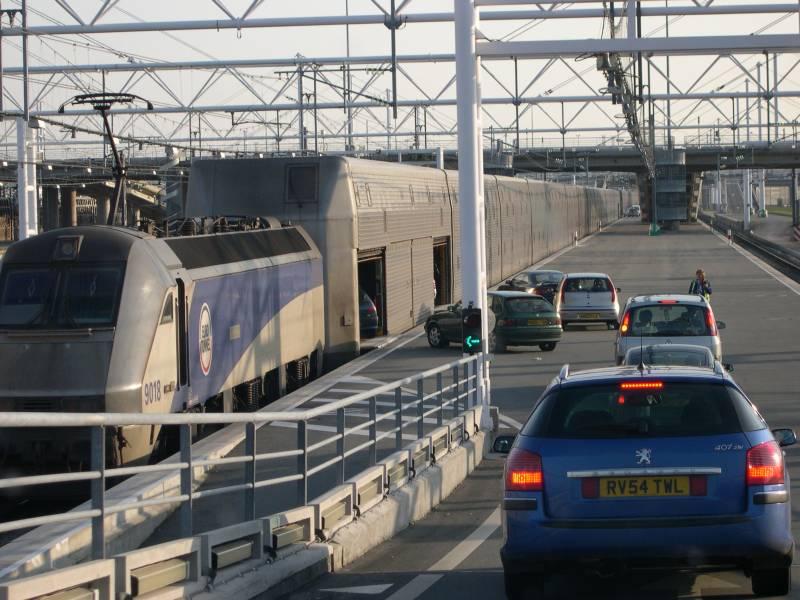 Eurotunnel - PKW